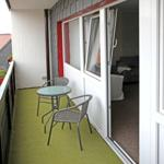 Wahlweise mit Balkon oder Terrasse