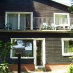 Blick auf Ihre Erdgeschoss-Wohnung (Gartenseite)