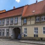 Sie wohnen in einem Denkmal in der Stadt Quedlinburg.