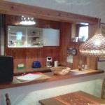 Integrierte Küche zum Wohnbereich