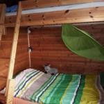 EG: Das gemütliche Schlafzimmer 2 mit Schlafsofa und tollem Hochbett