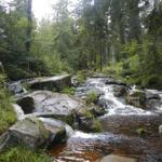 Der Bodewasserfall bei Braunlage