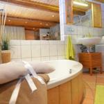 Badezimmer mit Waschmaschie