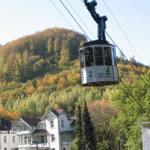 Burgberg-Seilbahn zu Fuß in wenigen Minuten bequem erreichbar