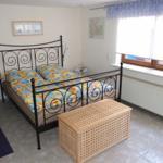 Doppelbett (1,60m x 2m) in der Ferienwohnung