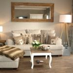 Das bequeme Sofa zum Ausruhen nach einem aktiven Tag