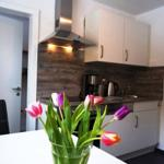 Küche mit hochwertiger Ausstattung