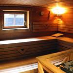 im Haus: u.a. Sauna