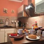 gemütliche Atmosphäre in der Küche