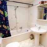 Das moderne Bad. Wir halten einen Fön für unsere Gäste bereit