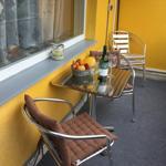 Balkon mit Grillmöglichkeit