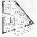 Grundriss Wohnen am Hochwald, zentral
