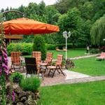 Eine unserer diversen Sitzgruppen im Gartenbereich