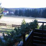 Blick vom Balkon ins Bärenbachtal