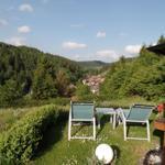 Blick von unserem Garten auf Altenau