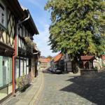 Blick in die Hinterstraße Altstadt