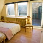 Doppelschlafzimmer oben mit Balkon