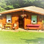 Garten mit Party-Blockhaus < Samsung_TV, Kühlschranck, Hifi Anlage, Heizofen, Mikrowelle,Eismaschiene. Zum spielen und Spaß haben oder einfach nur relaxen :-)