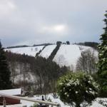 Blick zum Matthias-Schmidt-Berg im Winter
