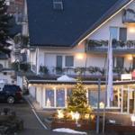 Blick vom Balkon auf das Hotel Venue