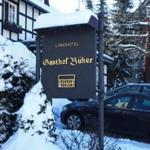 Hotel Büker im Schnee