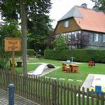 Minigolfplatz im Ort