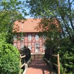 Historische Gebäude im Stadtkern von Bad Wünnenberg im Sauerland