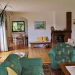 Wohnraum mit Kaminecke