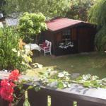 ein schattiges Plätzchen im Garten