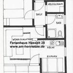 Terrasse Ferienhaus am Hennesee