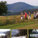 Nordik-Walking geführte Touren von Mai bis Oktober