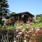 Gartenhaus im Sommer