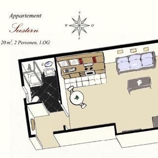 Appartement Seestern - Lübeck