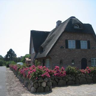 Landhaus Sternrenette - Haushälfte Kate - Wenningstedt