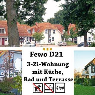 Ferienpark Gustow, 3-Zi-Fewo D21 - Gustow