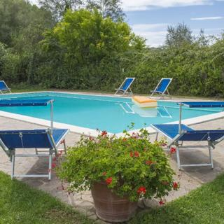 Casa Lazzeroni - Holiday home for 6/8 guests in Tuscany - Montaione, Località San Vivaldo