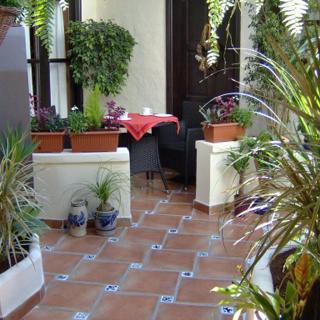 Apartamentos Monasterio de San Antonio - Mediterranes Apartment mit kleiner Terrasse im Innenhof - Icod de los Vinos