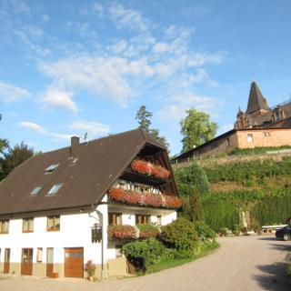 Schlossgut Rodeck, FeWo 1. Obergeschoss - Kappelrodeck