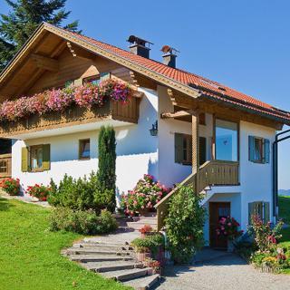 Ferienwohnung Terrasse - Bad Kohlgrub