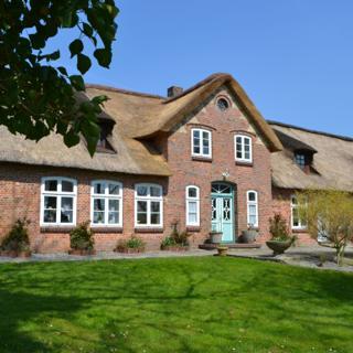 Landhaus Ole Steen - Wohnung Kapitän - Tating