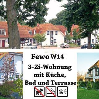 Ferienpark Gustow, 3-Zi-Fewo W14 - Gustow
