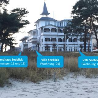 Ferienwohnung 11 Strandhaus Seeblick Binz - Binz