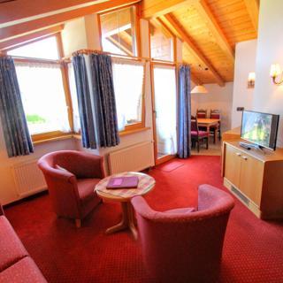 Pension Gatterhof - Zweiraumferienwohnung Nr. 13 mit Balkon - Riezlern