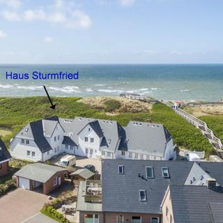 STURMFRIED, App.12 - Strandzg. 10 m - Wenningstedt