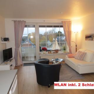 Neues, modernes KOMFORT-Appartement, wenige Schritte zum Strand, 2 Schlafz., WLAN inkl., SW-Balkon - Timmendorfer Strand