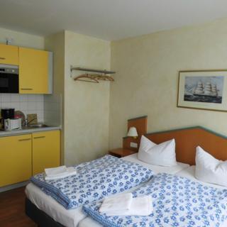 """""""Jolle"""" Komfort Appartment für 2 Personen in der KYP Yachthafen Residenz - Wiek"""