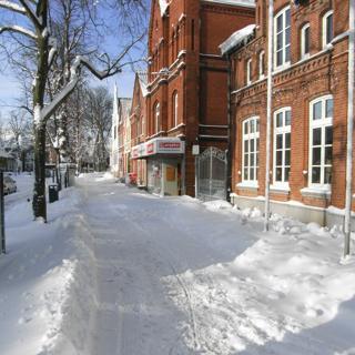 Altstadtwohnung 2 - hinten (Bahnhofstrasse) - Burgtiefe-Südstrand