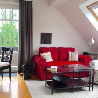 Villa an der See - 2 Z. - App. im DG mit Balkon - Timmendorfer Strand