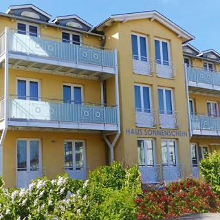 Haus Sonnenschein - Ferienwohnungen Typ G - Göhren