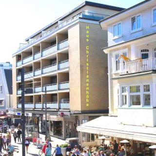Haus Christianenhöhe  App.  14 - Westerland